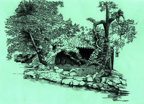 苏州园林-小景