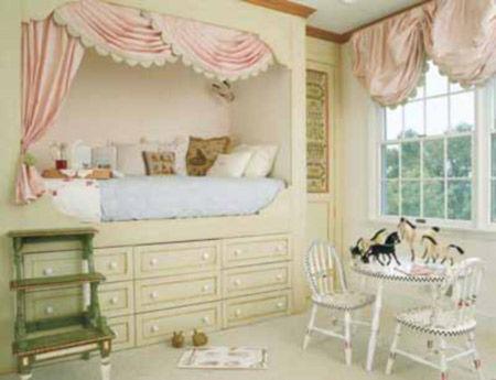 儿童房间装修效果图韩式(韩式装修效果图)风格的儿童房设计-不可