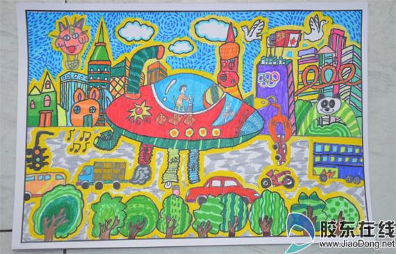 少儿绘画比赛征集作品近3千幅 评比时间调整