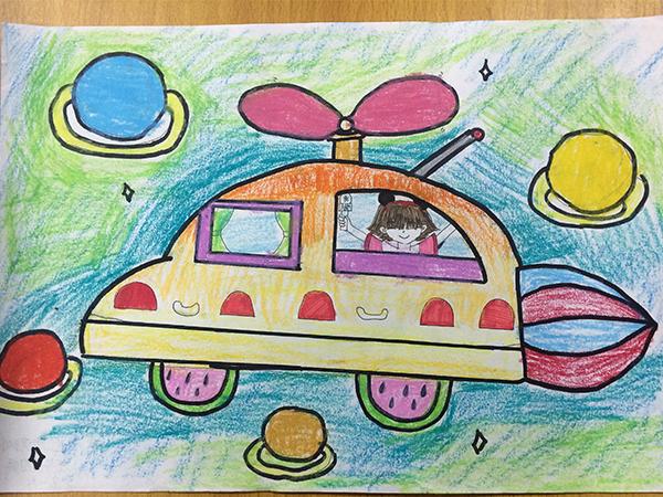 未来的交通工具——飞碟汽车