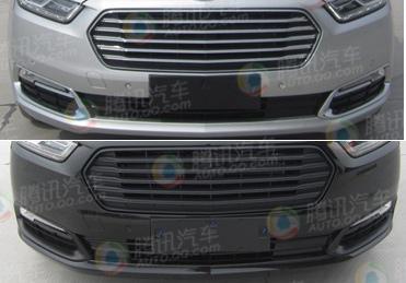 福特金牛座实车曝光 高低配车型细节显现图片