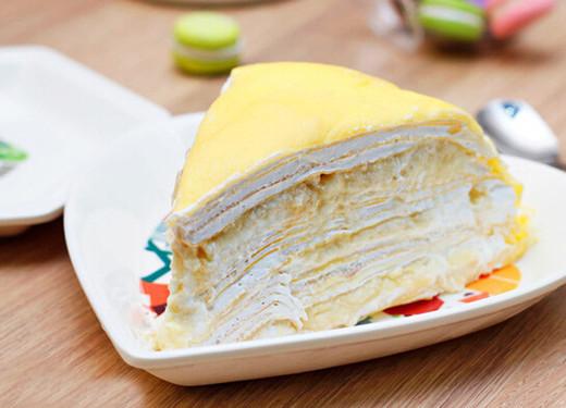 榴莲千层蛋糕怎么做?重口味榴莲可以小清新