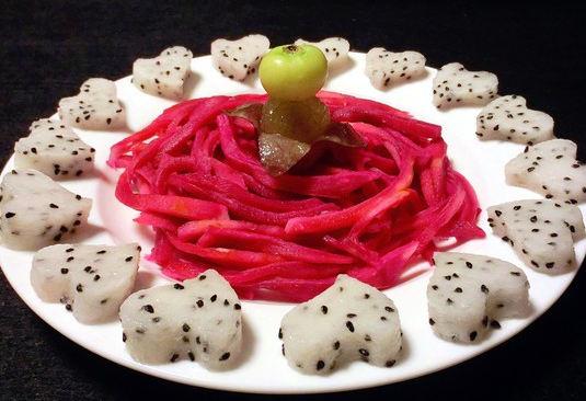 火龙果的皮能不能吃?火龙果皮美味吃法大比拼图片