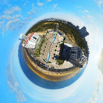 开发区海边钟楼