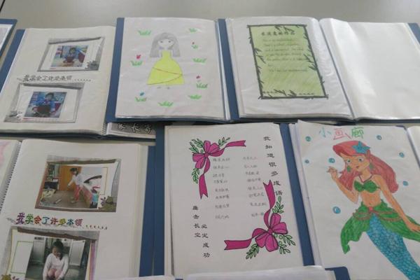 高新区实验小学建立学生成长档案