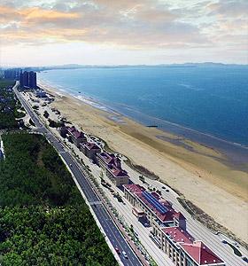 开发区海边