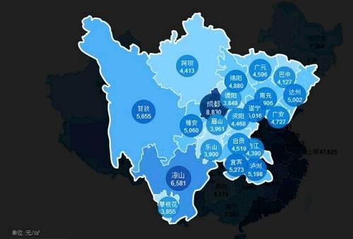 全国房价地图出炉 济南青岛均价每平12000元左右