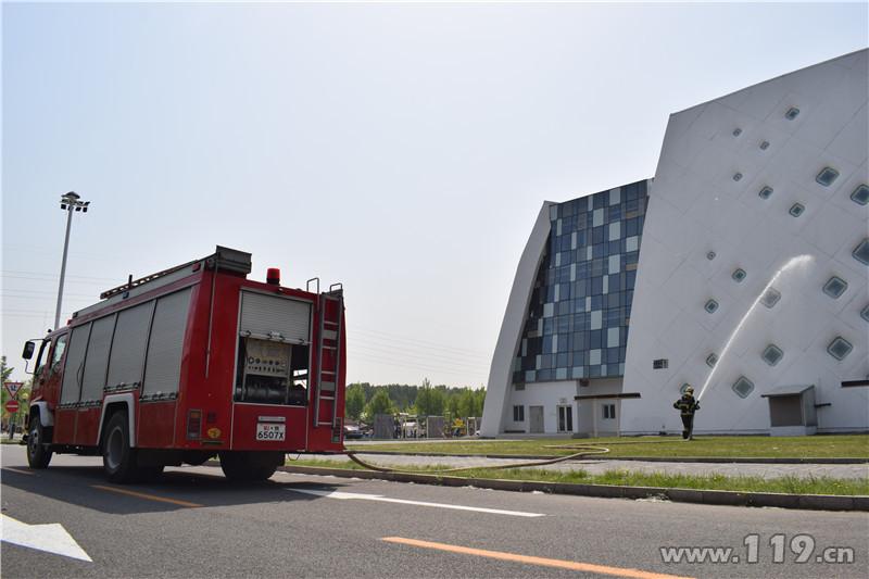 昌平消防第五届北京农业嘉年华消防安保纪实