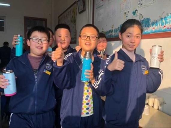 """招远市十六中""""暖心工程""""全面改善师生饮水条件"""