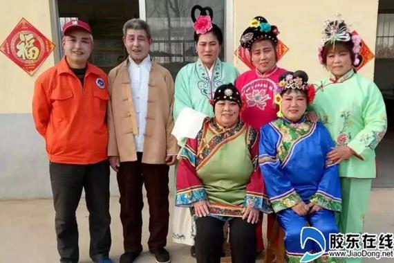 招远市夏甸镇天鹅湖畔有一群新时代老人(图)