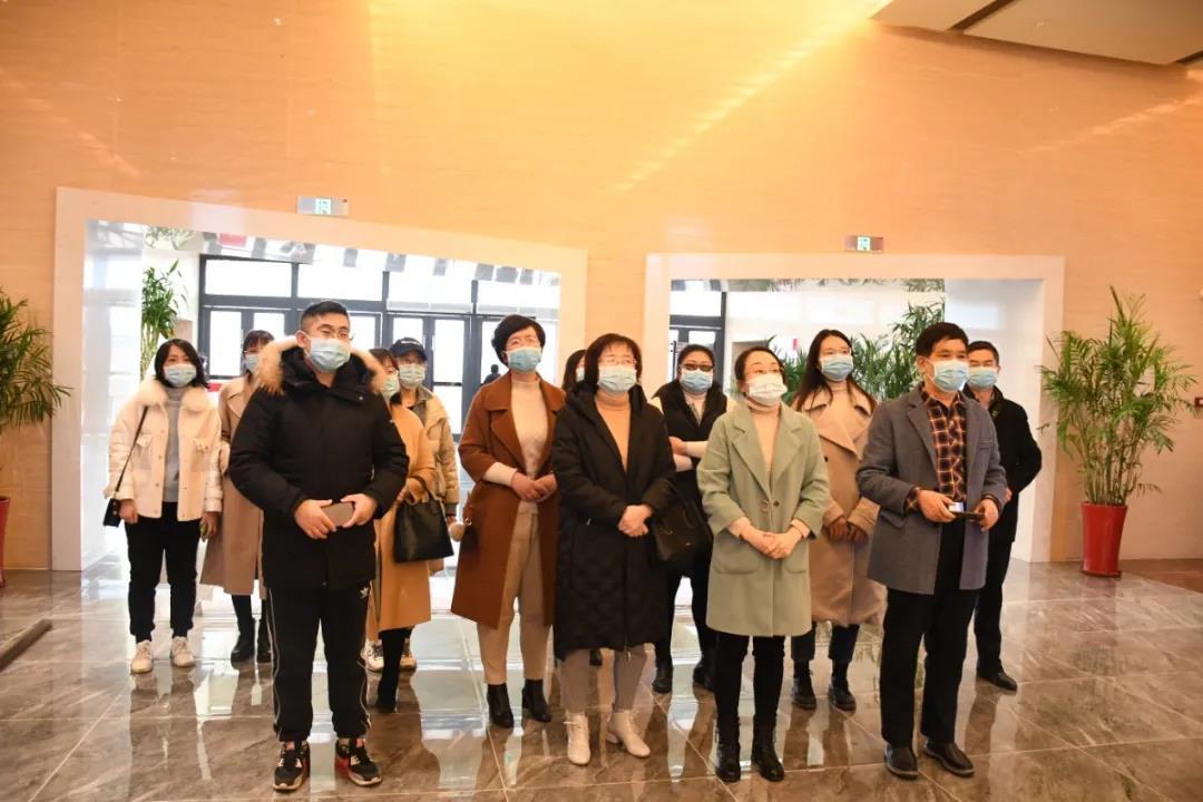滨州医学院到胶东红色文化陈列馆参观学习